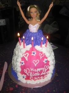 Mmmm Monday Barbie Cakefrom Target NatalieSnappcom