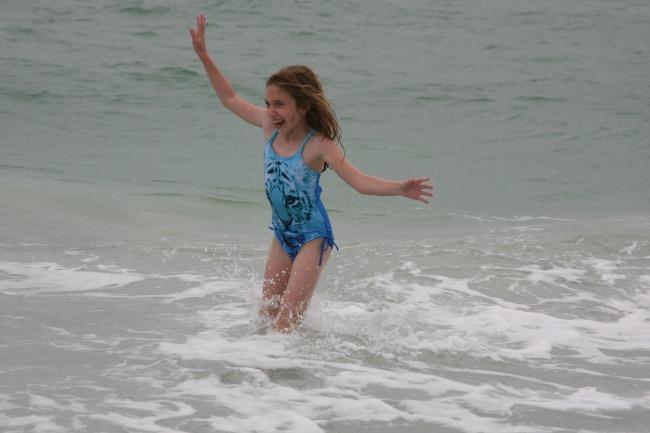 Sarah on Beach 3