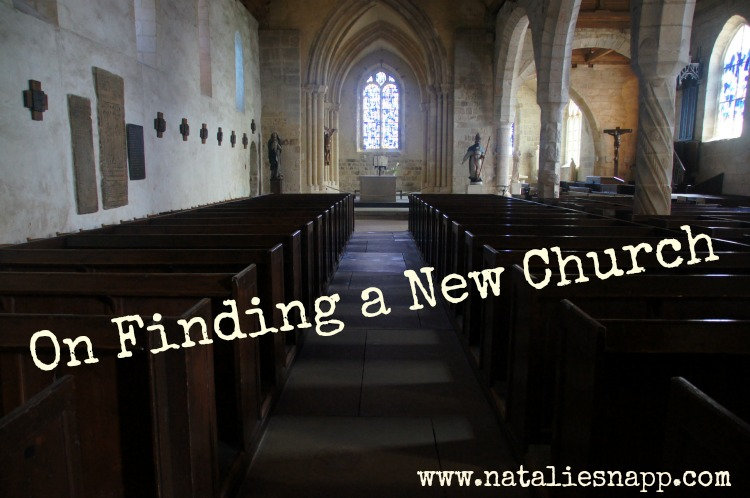 Church Shopping: On Finding a New Church